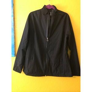 Callaway golf jacket size large black opti Series